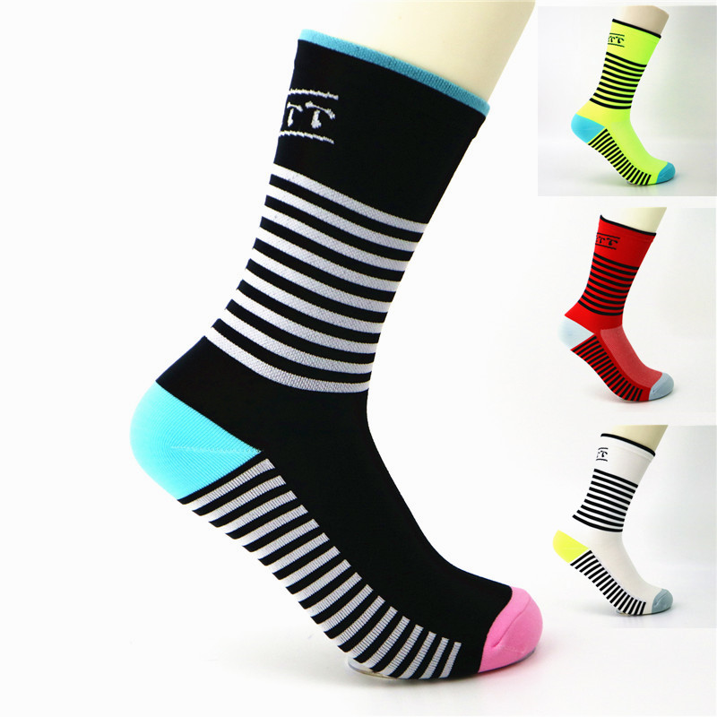 YF&TT Unisex Summer Men's Sport Cycling Socks Bike Riding Basketball Golf Tennis Breathable Outdoor Running Socks Fit Women
