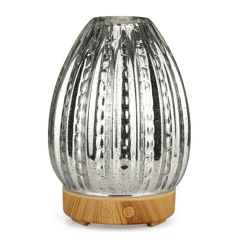 3D Led Night Light Air Humidifier Glass Vase Shape Aroma Essential Oil Diffuser Mist Maker Ultrasonic Humidifier Gift Uk Plug3D Led Night Light Air Humidifier Glass Vase Shape Aroma Essential Oil Diffuser Mist Maker Ultrasonic Humidifier Gift Uk Plug