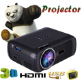 WZATCO 1800lm pico portátil levou mini HDMI video game TV android projetor digital de bolso cinema em casa projetor projetor Beamer