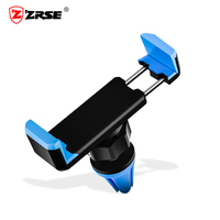 ZRSE Car Phone Holder Air Vent Mount Holder Stand Universal 360 Degree Adjustable Mobile Phone Car Holder For Samsung Xiaomi LG