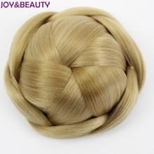 JOY& BEAUTY синтетический шиньон Круговой Стиль диаметр 12 см 6 цветов высокая температура волокно Плетеный шиньон