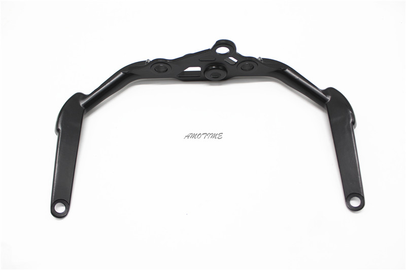 Upper Fairing Stay Bracket For HONDA CBR954RR CBR900RR 2002 2003 CBR 900 954 Black Front Headlight
