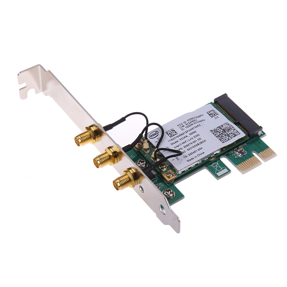 450Mbps Transmission Rate Wireless WiFi PCI Express Adapter Desktop Card for Intel 5300 Compatible Slot PCI