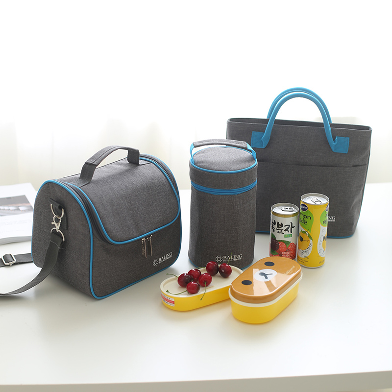 GOWINLIN Thermo Cooler Bag Refrigerator Thermal Insulated Lunch Bags Picnic Food Fruit Fresh Keeping Freezer Icepack Handbags