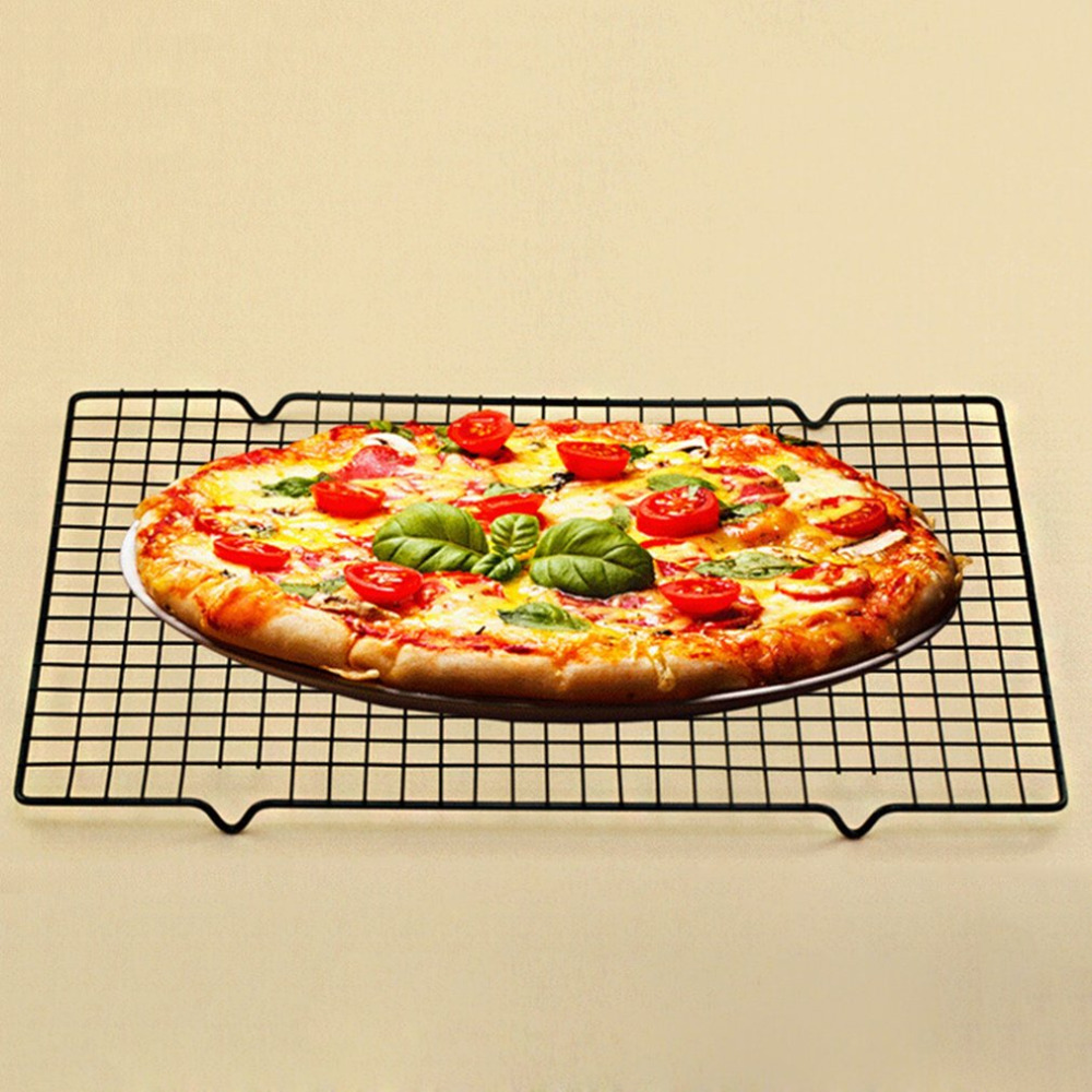 New Nonstick Metal Cake Cooling Rack Grid Net Baking Tray Cookies Biscuits Bread Drying Stand Cooler Holder Baking Tools