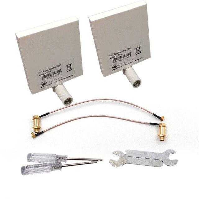 DJI Phantom 4 y Phantom 3 profesional y extensor de rango de señal WiFi Kit de antena