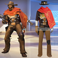Jesse McCree Cosplay Costume Clothing Game Superhero Suit Adult Men Halloween Christmas Costume Cosplay Unisex Custom Made