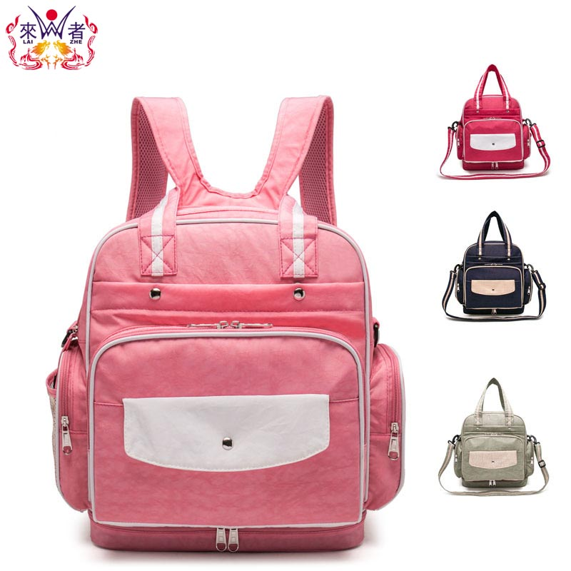ФОТО Branded Nappy Bags Mummy Maternity Bag Nursing Bag For Baby Care Travel Backpack Large Capacity Baby Diaper Bag backpack Fashion