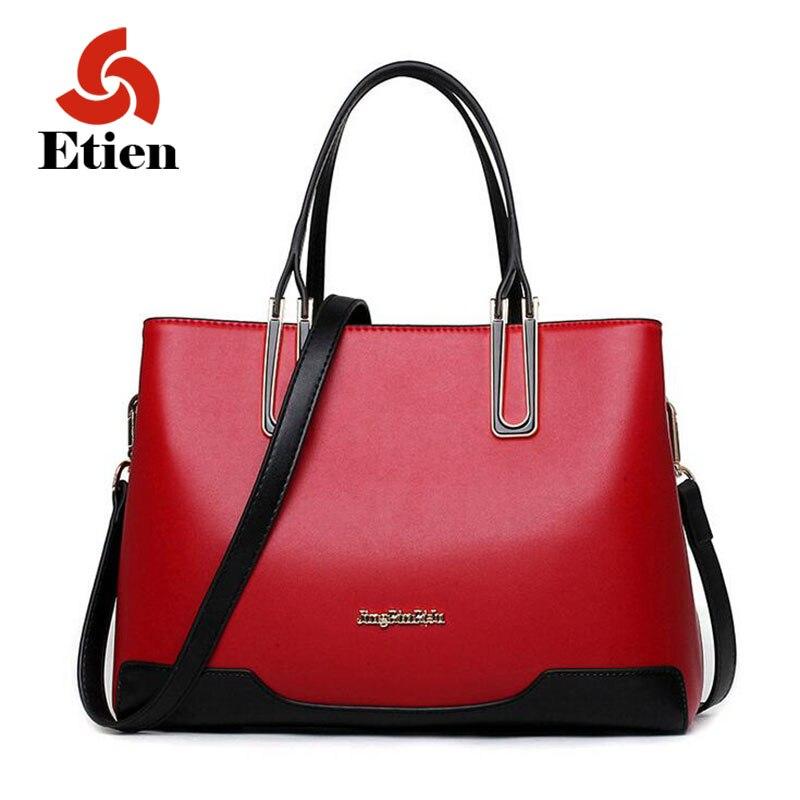 ФОТО 2016 PU leather bag luxury handbags women bag designer  high quality brand fashion women messenger bag tote bag