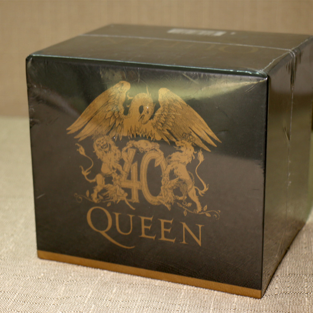 The Queen 40th Anniversary 30 CD Box Set Booklets Full Collection Drop Shipment Acceptable giant size x men 40th anniversary