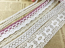 Wholesale lot 3Yards Delicate Vintage Cotton Crochet Lace Trim DIY/sewing/craft /Wedding