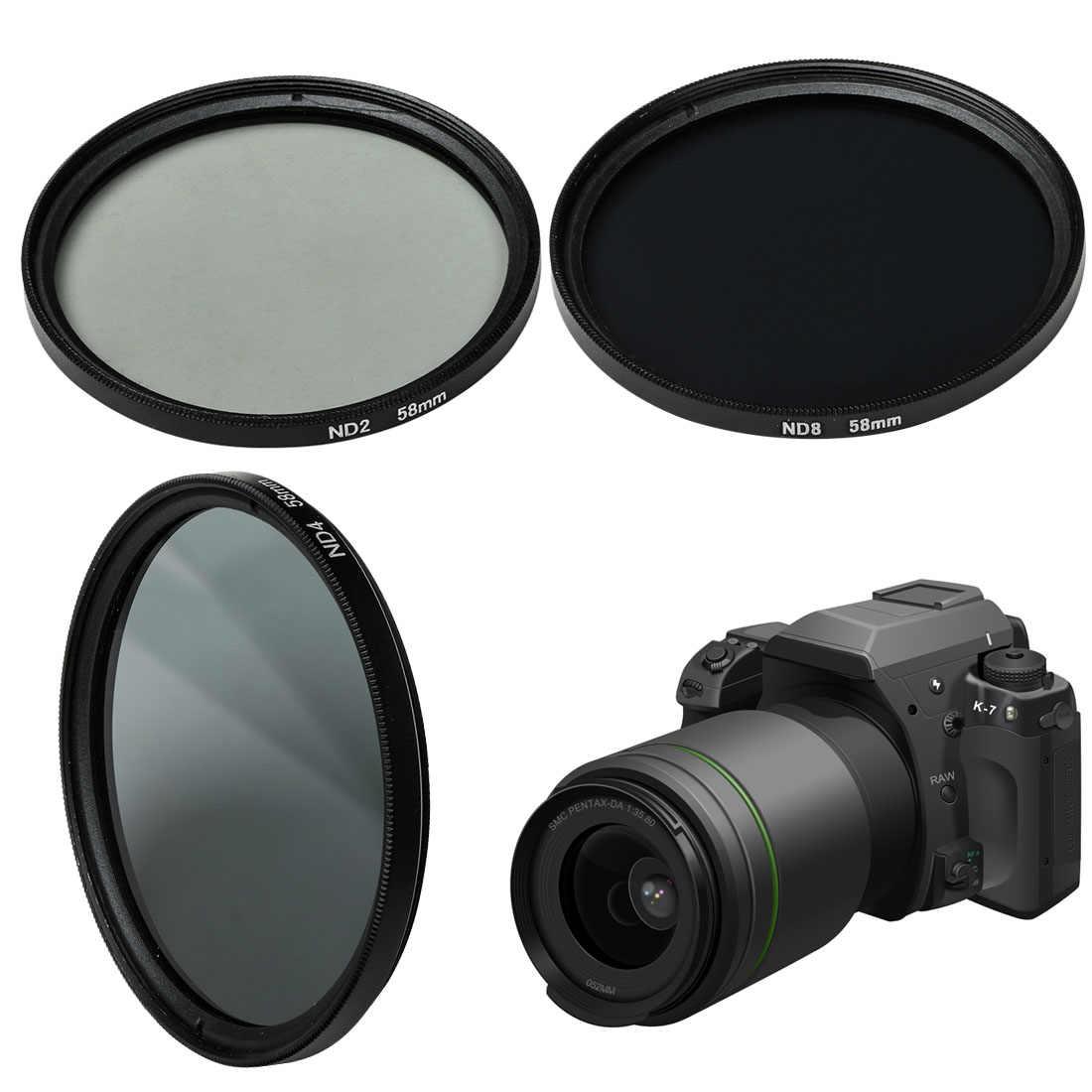 Universal ND กรอง 49 มม.52 มม.55 มม.58 มม.62 มม.67 มม.72 มม.77 มม.สำหรับ canon Nikon SONY กล้องอุปกรณ์เสริม