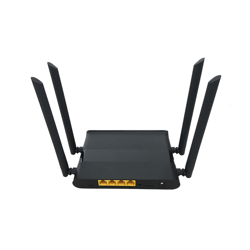 Cioswi 802.11ac Home Network Wireless Wifi Router Gigabit Router Wireless Repeater 5Ghz Usb Dual Band Wifi Router 1200Mbps image