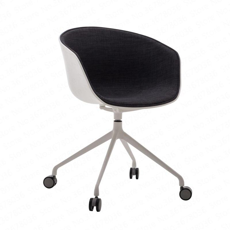 Chaise nordique café salle à manger chaise moderne maison simple bureau ordinateur sac chaise