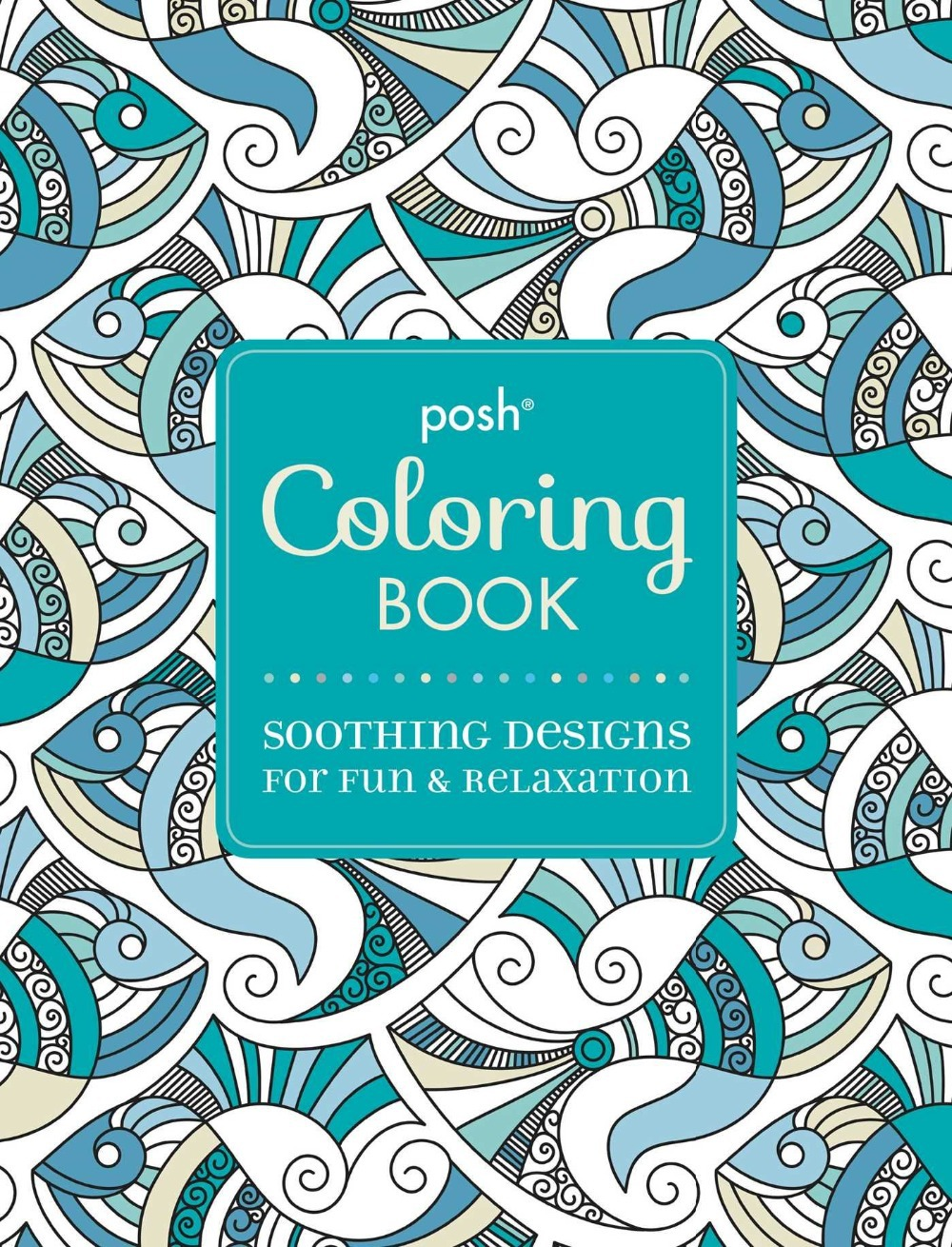 Posh coloring book soothing designs for fun and relaxation - Aliexpress Com Buy Posh Adult Coloring Book Soothing Designs For Fun And Relaxation English Antistress Coloring Coloring Books For Adults Art From