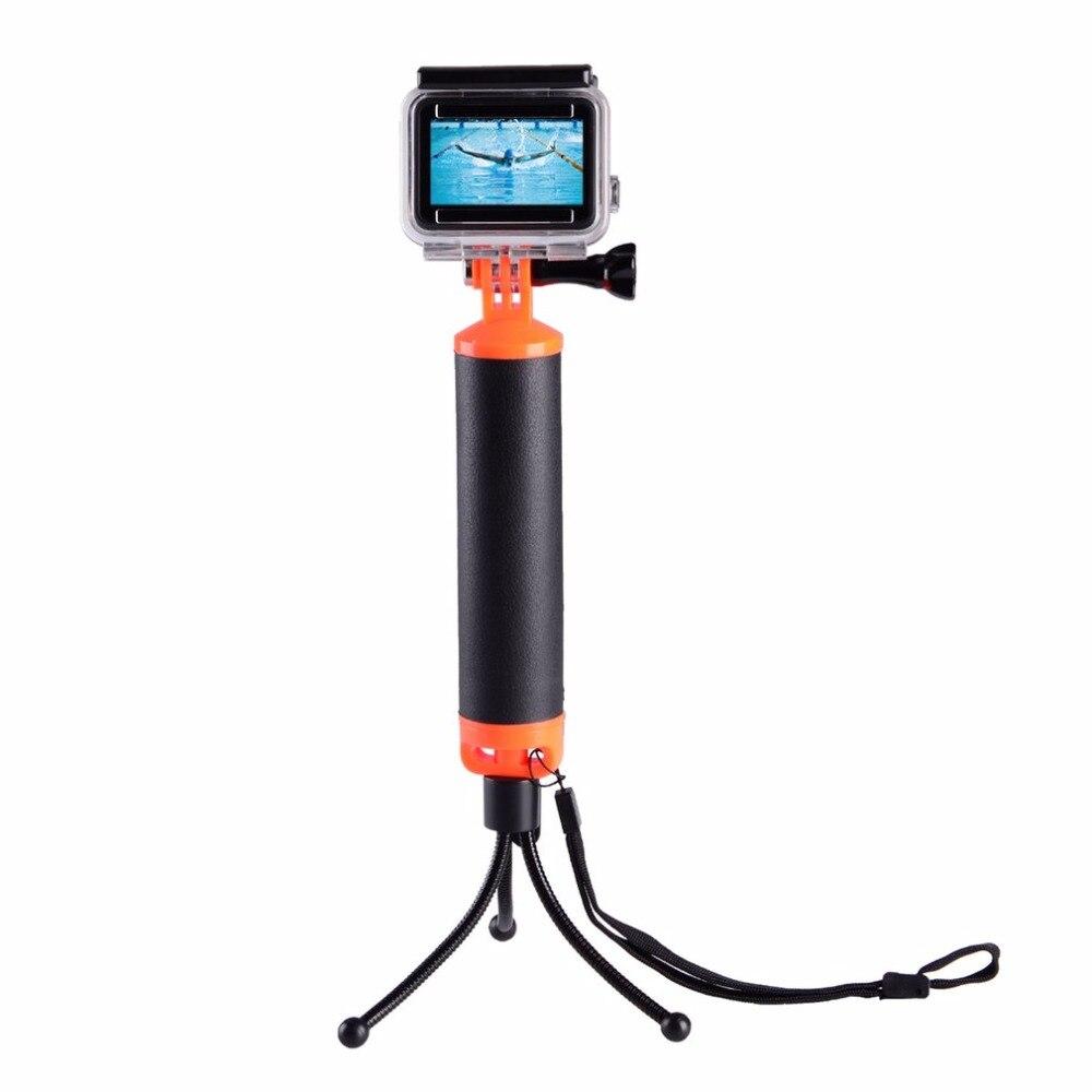 Camera Accessory Floating Handle Bar Handheld Stick Monopod Tripod Buoyancy Rod Pole Stick for Gopro Hero5/4/3