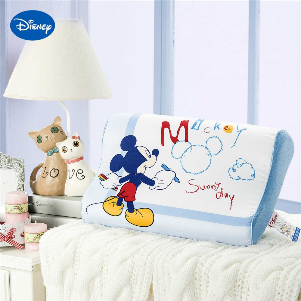 Drawing mickey mouse memory pillows 40x25cm home decor for Baby cot decoration images