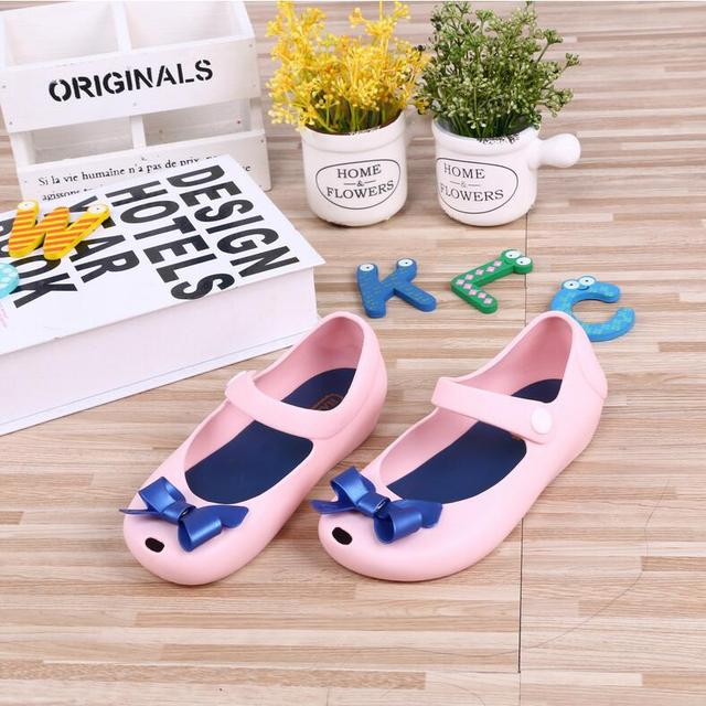 81e08583b Girls Sandals Soft Jelly Shoes toddler Summer Sandals mini melissa baby  princess shoes girls sandals women shoes plastic shoes-in Sandals from  Mother & Kids ...