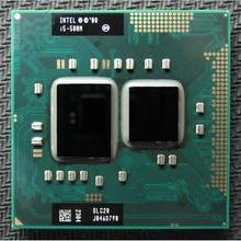 Original INTEL I5 580m I5-580m Dual Core 2.66GHz L3 3M PGA 988 CPU Processor work with HM55