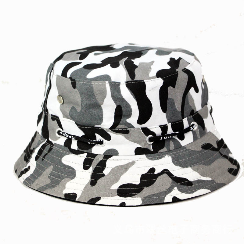 Camo Bucket Hats New Men Outdoor Military Boonie Fisherman Hat Cotton Easy  Fishing Cap Bucket Caps Bob Chapeau Crocodile-in Bucket Hats from Apparel  ... 69419a30018