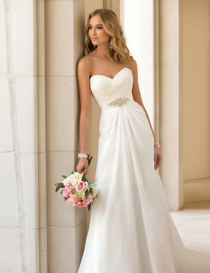 Fitted Wedding Dresses with Bling Promotion-Shop for Promotional ...