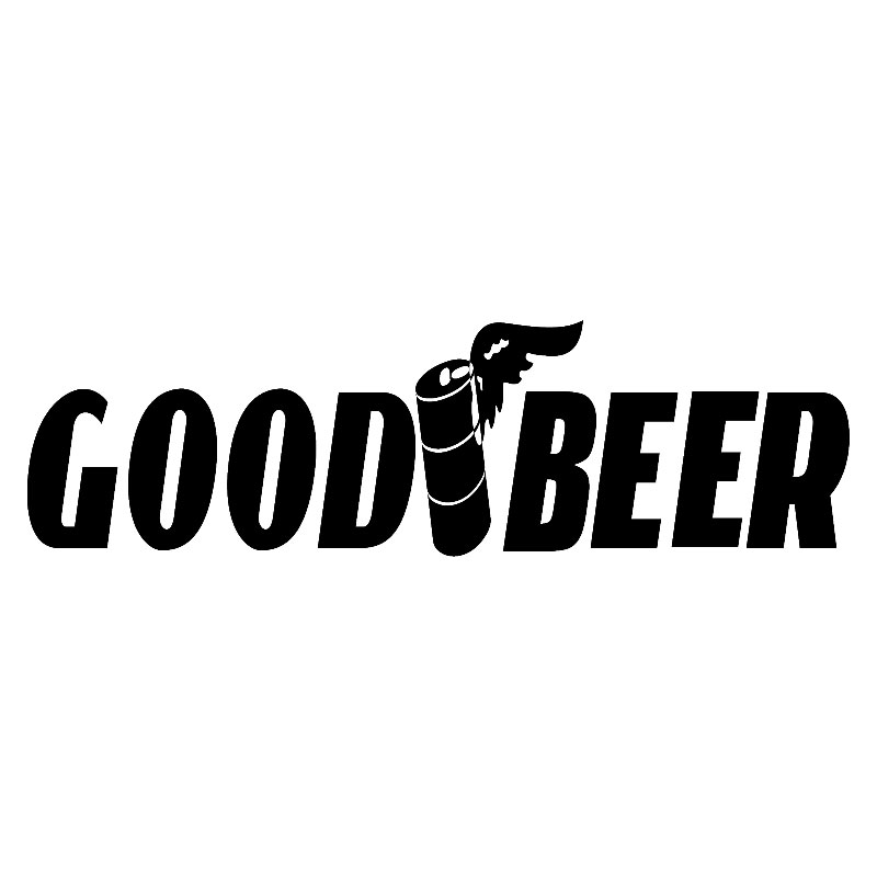 17 8 5 1cm Good Beer Funny Window Vinyl Decal Motorcycle