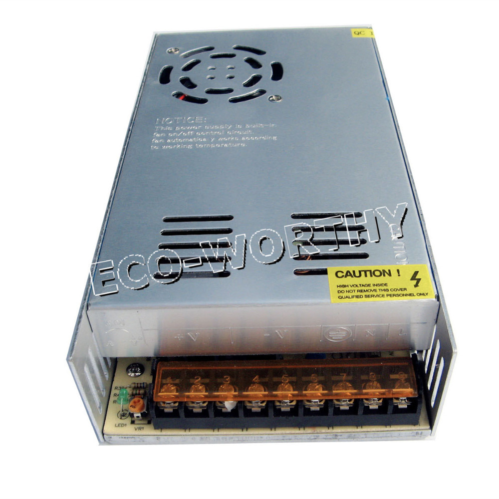 1pcs 30A 12V 360W Switching power supply Driver For LED Light Strip Display Factory Supplier Free Shipping