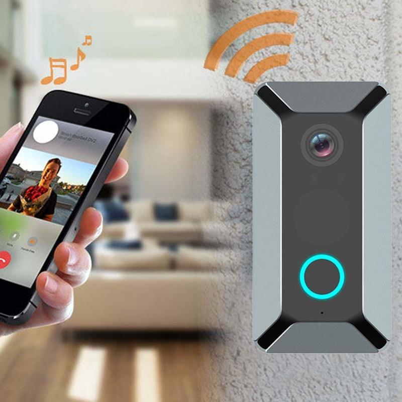 WIFI Doorbell Smart IP Video Intercom Video Door Phone Door Bell Camera Wireless Security Camera V6 Security House Bell Security