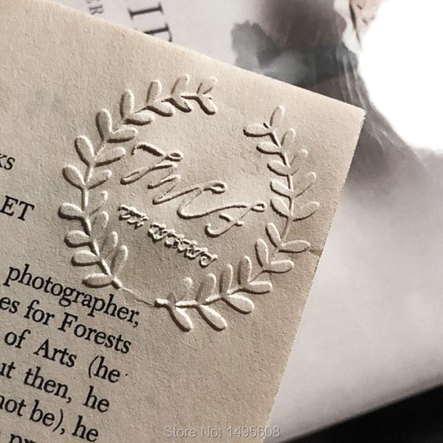 aliexpress com buy custom embosser stamp free shipping notary