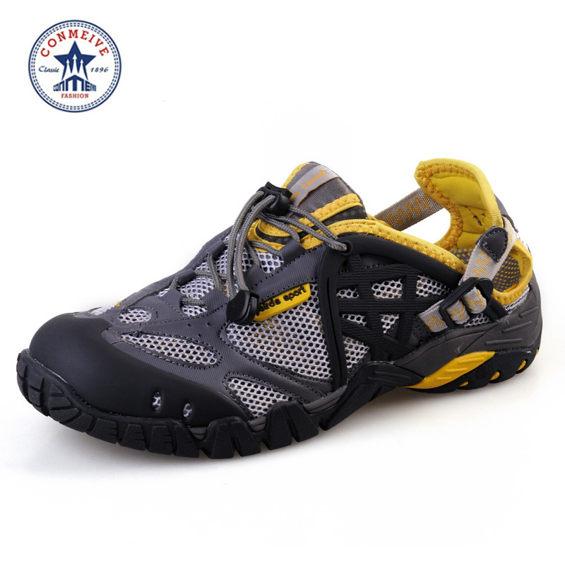 2016 Special Offer Limited Aqua Shoes Mesh Men Upstream Breathable Summer Wading Quick Dry Beach Male Outdoor free Shipping
