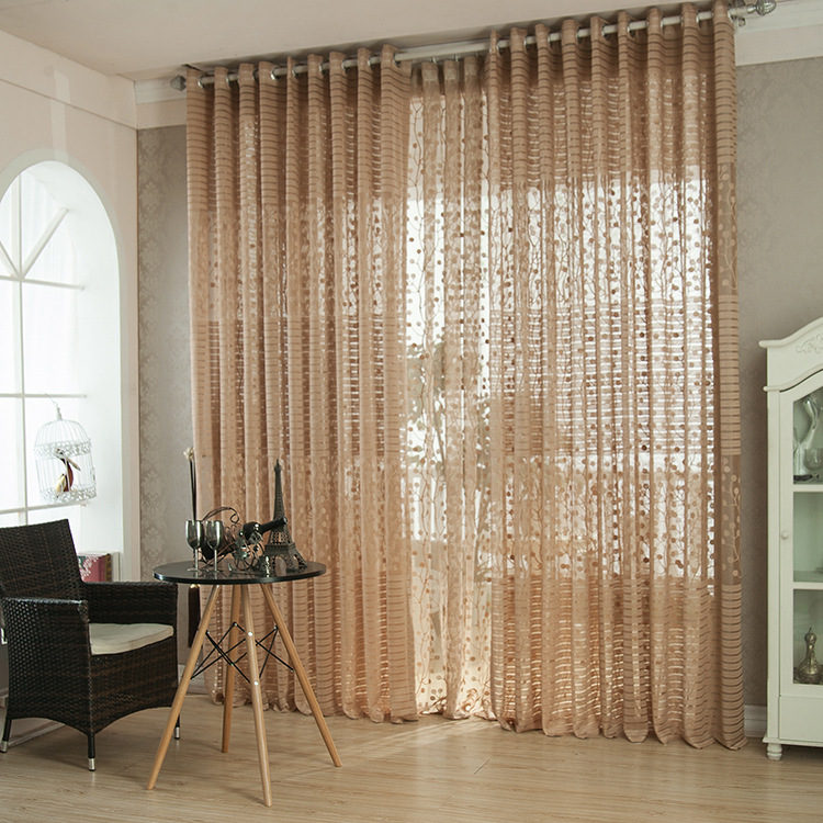 luxury living room curtains. Pink Jacquard Luxury Living Room Curtains Kitchen Voile Crochet  Divider Factory Direct Light brown in from Home Garden on Aliexpress com