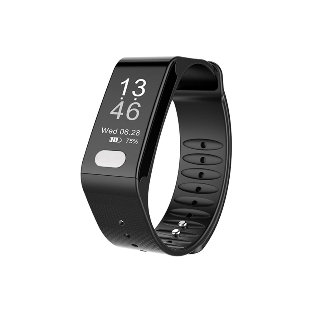 Smartband Heart Rate Monitor Wristband Pedometer Sleep Monitor Smart Bracelet Health Fitness Tracker for Android and iOS mymei bluetooth pedometer tracker smartband remote camera wristband for android ios sc