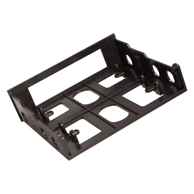 En-Labs 3.5 to 5.25 Floppy to Optical Drive Bay Mounting Bracket Converter for Front Panel,Hub,Card Reader,Fan Speed controller 3