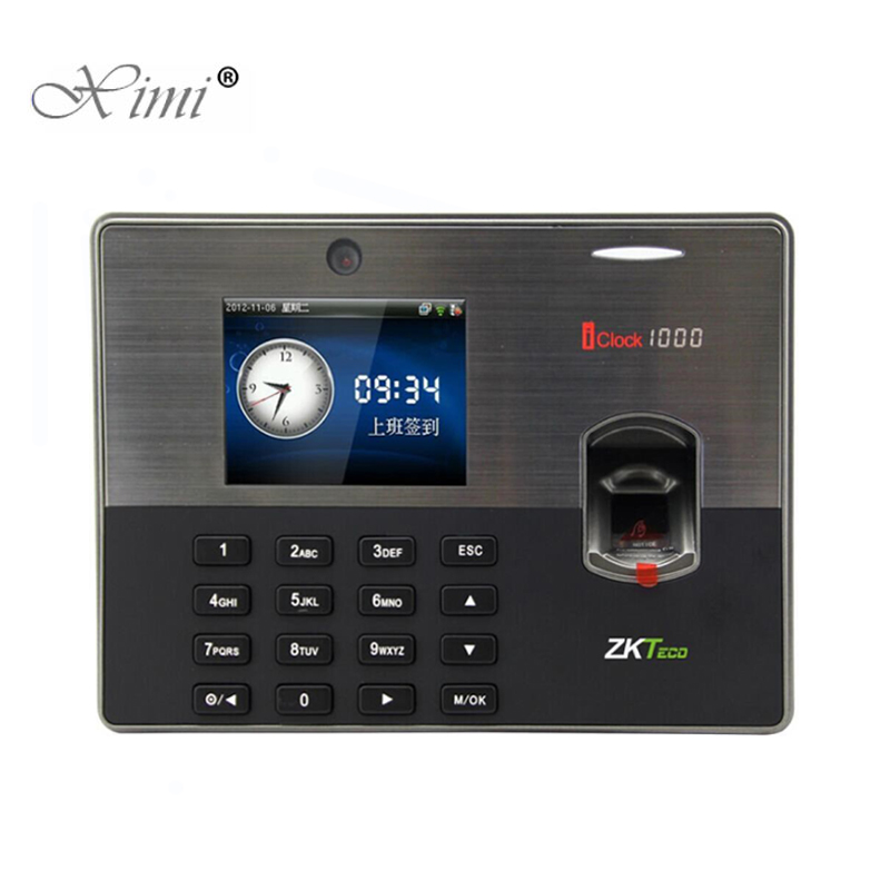 New!!!ZKteco Iclock1000 Biometric Fingerprint Time Attendance ZK Fingerprint  Access Control System With Free Software And SDK