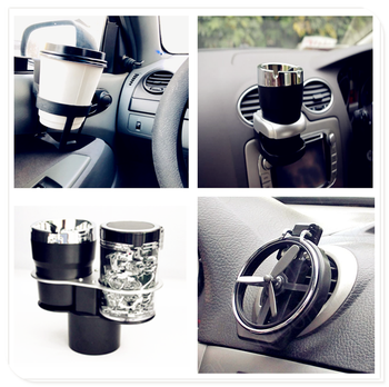 Car carrier drink holder cup water Folding Air Inlet bracket for Kia Sportage Sorento Sedona ProCeed Optima K900 Soul Forte5 image