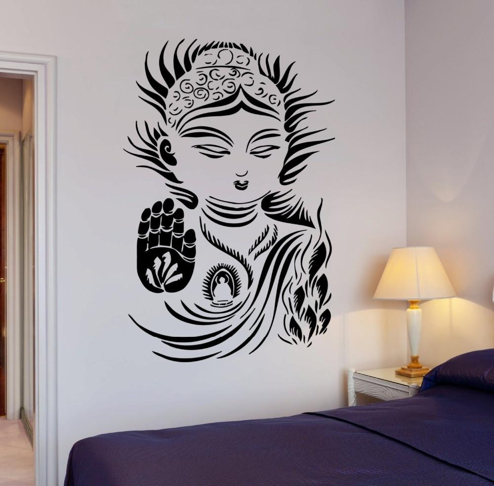 Aliexpresscom Buy Buddhism Yoga Meditation Wall Sticker - Zen wall decalsvinyl wall decal yin yang yoga zen meditation bedroom decor