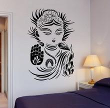 Etiqueta de La Pared Rexlation OM Yoga Meditación Zen budismo Religiosos Tatuajes de Pared Mural Home Dormitorio Decoración Arte Pegatinas de Vinilo M-71