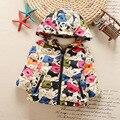 Snowsuit New Special Offer Fashion Cotton 80% Girls Jacket 2016 Winter Children' S Wear Children 's Down Jackets, Warm Apparel