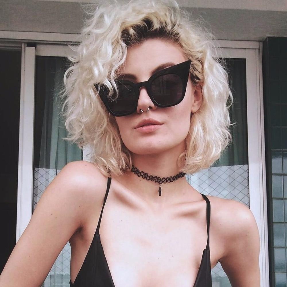 XONIX Brand Cute Sexy Retro Cat Eye Sunglasses Women 2018 New Shades Eyecat Sun Glasses Fashion Designe Eyewear For Female de so