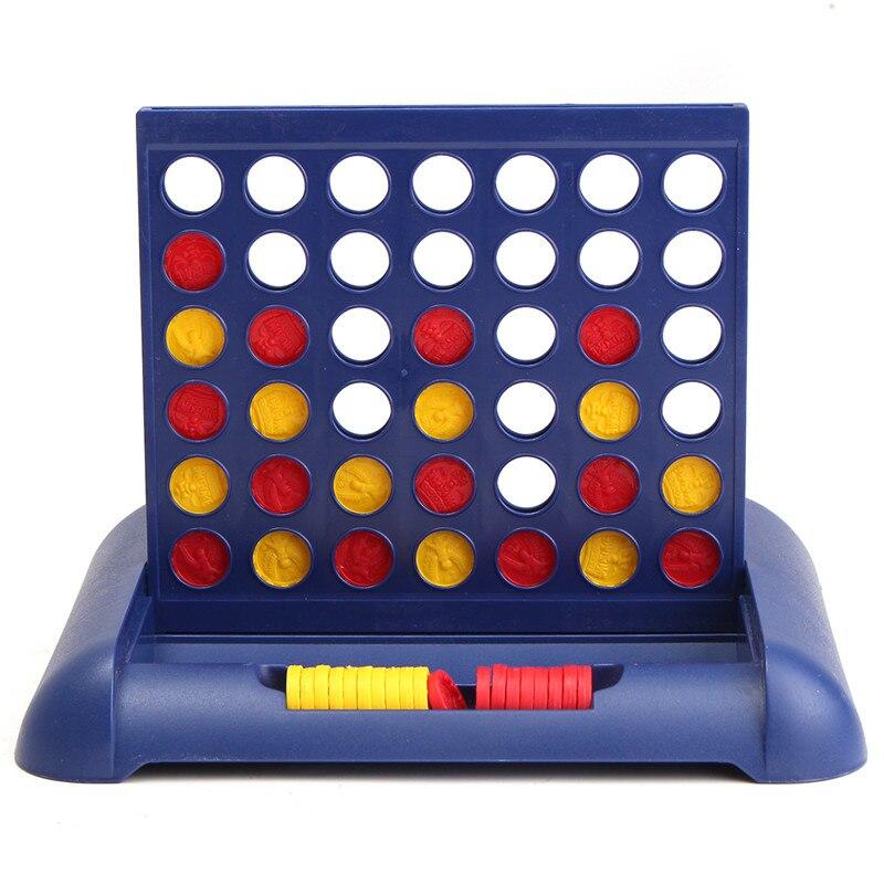 Высокое качество желтый/красный Пластик четыре в ряд 4 в линию Забавная детская семей вечеринок классические Бинго Настольные игры развлеч...