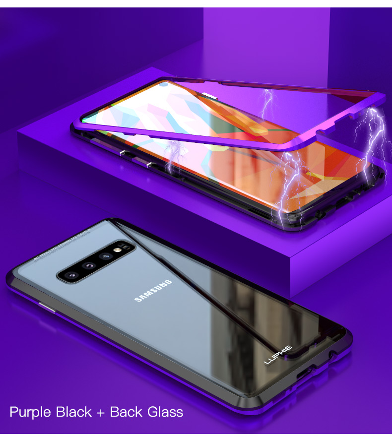 Samsung S10 Plus S10e magnet glass Case (13)