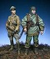 Смола Комплекты 1/35 LSSAH Kampfgruppe Хансен, арденны солдат Неокрашенный Комплект Смола Модель Бесплатная Доставка