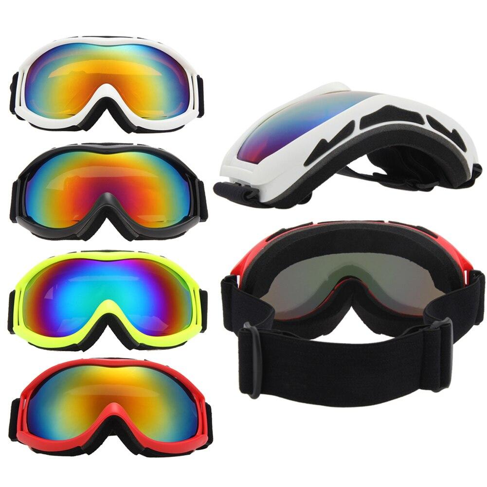 2f70424ff02 Gafas de esquí doble UV400 anti-niebla gran máscara Gafas snowboard esquí  hombres mujeres nieve gafas nuevo llegan al aire libre