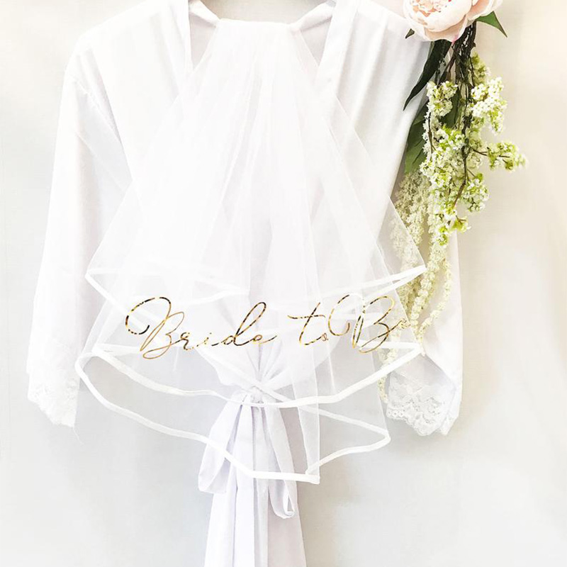 Veil Gold Bride To Be Veil Team Bride Bridal Wedding Decor Hen Party Bride White