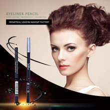 BIOAUNT 1pc Pro Women Black Eyeliner Pencil Makeup Waterproof Brown Eye Liner Pencils Beauty Young Girls' Eyes Pen Make Up Tools цена