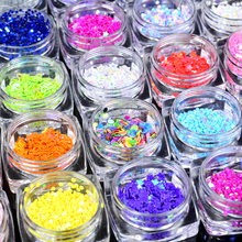 2019 New Arrival Round Star Heart Shape Nail Glitters Colourful Stone Nail Tip Decorations DIY Nail Polish Tools Salon Supplier