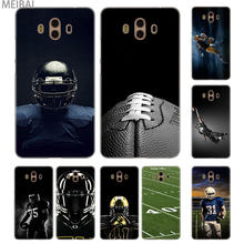MEIBAI American Football Transparent cover case for Huawei Mate 7 8 9 10 20 Mate 10 20 lite Mate 20 pro 20x S cover(China)