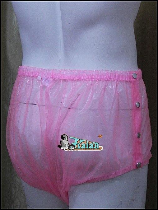 ADULT BABY Incontinence PLASTIC PANTS P004-5T,Size: M / L / XL / XXL