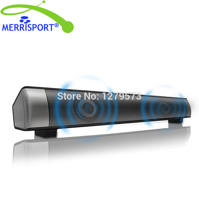 MERRISPORT Bluetooth Subwoofers 20 Channel 10W Wireless Stereo Speaker With TF Card 35mm AUX