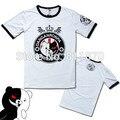 Danganronpa Cosplay Monokuma Unisex 100% Cotton Short-Sleeved Casual T-Shirt Tee Shirt Sportswear Coat Tops